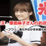 原田麻子さんのかき氷のお店に行こう!/マツコの知らない世界